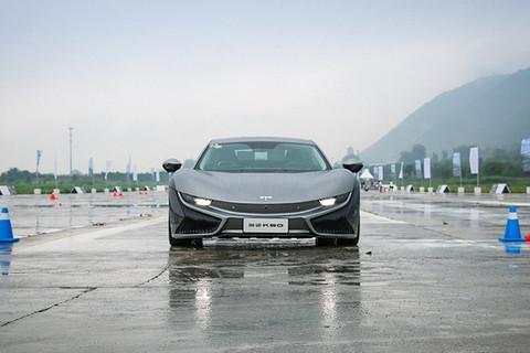 半分钟看新车 百公里加速4.6秒纯电动跑车前途K50