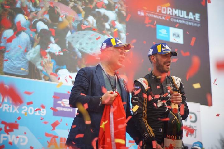 ABB Formula E三亚站落幕 来自中国的DS钛麒车队夺得赛段冠军