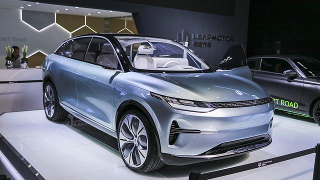 2019上海国际车展新美学候选车型——零跑汽车C-more