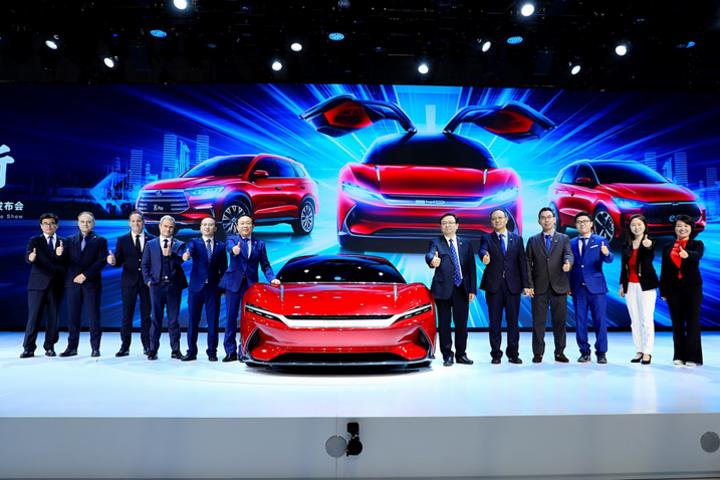 2019上海車展:一起來看看比亞迪展台都爲我們帶來了什麽