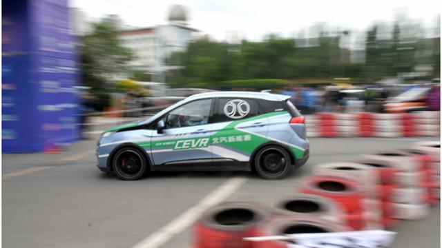 第六届环青海湖(国际)电动汽车挑战赛场地竞速赛杨凌两夺明星杯