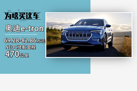 【为啥买这车】奥迪e-tron 始终是一台纯正的奥迪