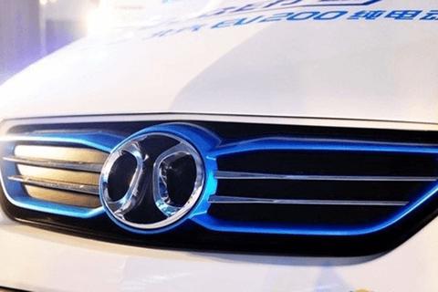 北汽新能源:1月份新能源汽车销售4512辆,同比降低43.66%