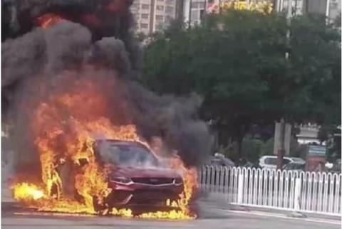 刚提的车就自燃,<font  color=