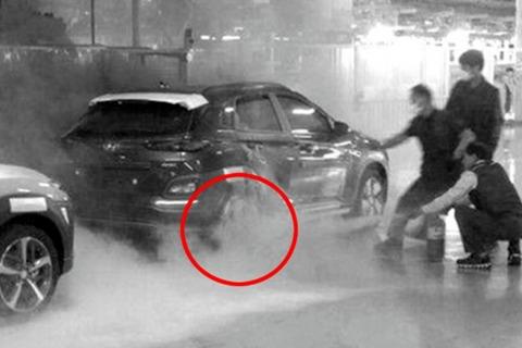 13起自燃/7.7万辆召回,Kona EV烧掉现代新能源汽车的底裤