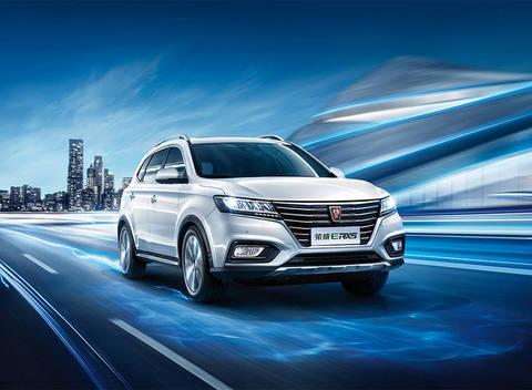 上海车展回来,我开回了一辆上汽纯电动SUV