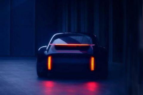 纯电动力神似911 现代最新概念车预告图发布