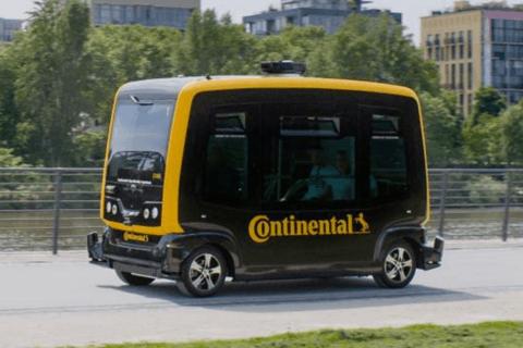 大陸推出自動駕駛車專用感知和制動技術