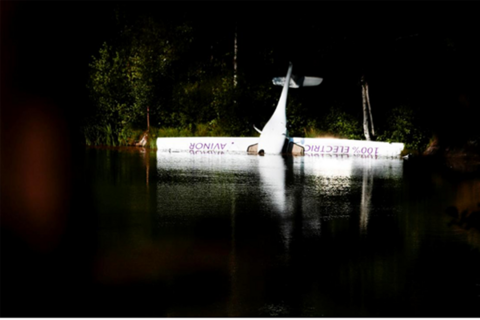 挪威首架电动飞机坠湖 曾计划在2025年实现商用
