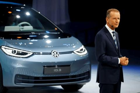 大众集团CEO:电动化转型不会降低集团利润率