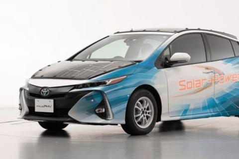 借太陽之力 聊豐田普銳斯太陽能測試車