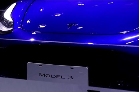 國產Model 3車展亮相,特斯拉展廳熱度依舊