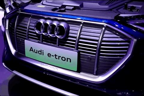 奧迪e-tron系列出動廣州車展,不同身材不同性格