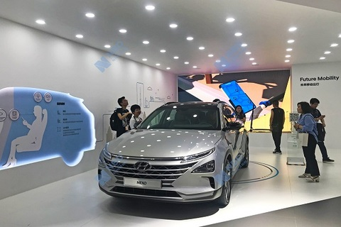 现代对外首推氢燃料商用車 瞄上中国市場