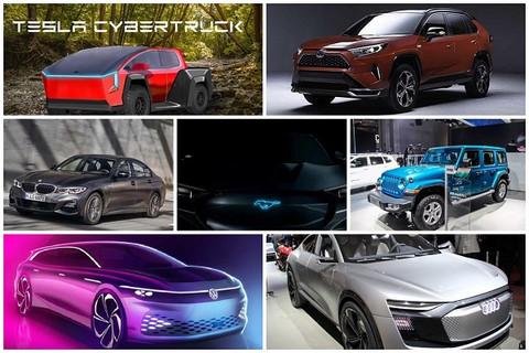 2019年洛杉矶车展 值得期待的7款新能源车型盘点