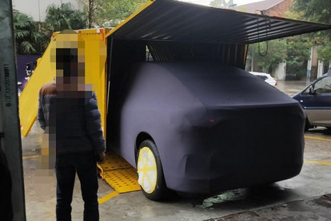 12月底发布 蔚来全新轿跑SUV谍照曝光