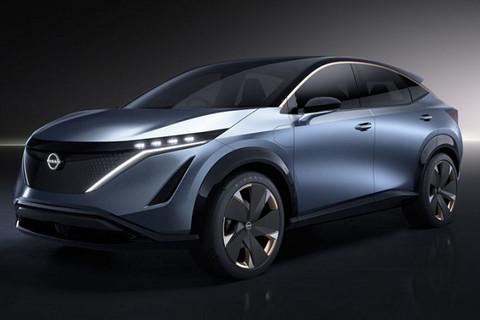 日产Ariya纯万博体育投注概念车加速将在5秒内 2021年正式上市
