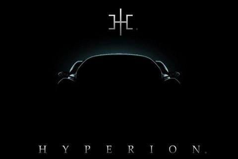 疑似氢能源超跑 Hyperion发新车预告图