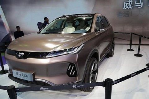 威馬EX6 PLUS新增車型正式上市 補貼后售價18.99萬