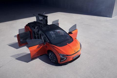 高合HiPhi X将于北京车展正式上市 2021年交付