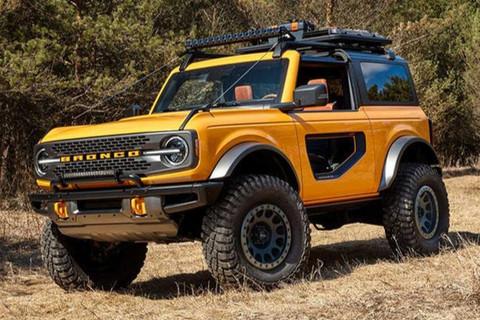 福特Bronco将推插混版车型 2022年上市