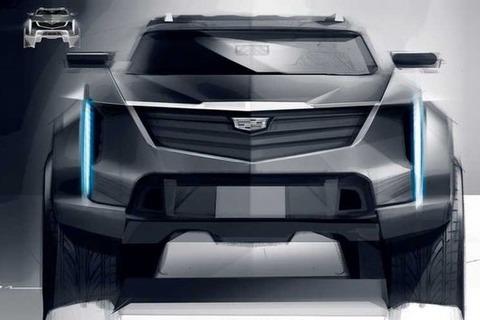 凯迪拉克全新电动SUV设计草图曝光 或与凯雷德同级别