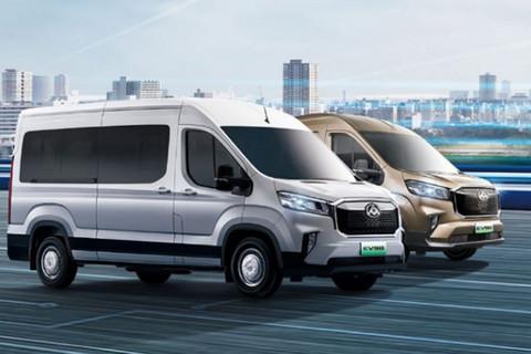 上汽大通MAXUS EV90新增5款车型上市