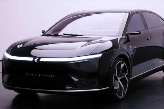 富士康Model E实拍图发布 内饰曝光