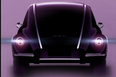 造型似甲壳虫 欧拉新车即将亮相上海车展