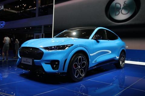 纯电动SUV—Mustang Mach-E亮相上海车展
