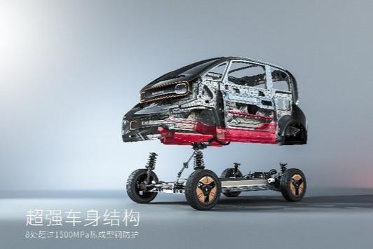 KIWI虽小 但安全不能少 宝骏KiWi EV首次公布主被动安全及驾乘配置