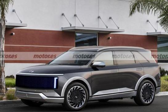 定位为纯电动SUV现代IONIQ 7 量产或将临近