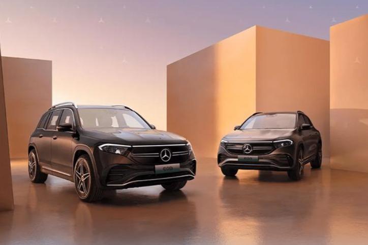 奔驰发布EQA和EQB预售价格  分别为37万元/44万元