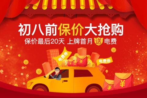 畅销新能源车型春节联合行动,上牌首月送电费