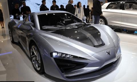 全新ARCFOX GT纯电动超跑发布 百公里加速2.59秒/将在北京量产