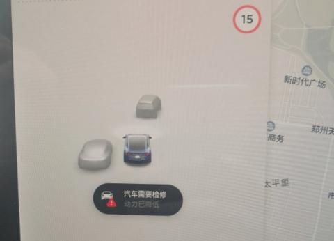 购特斯拉15天高速上突降速,司机受惊求退车