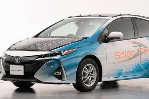 豐田與夏普共同研發的光伏充電電動汽車將上路測試