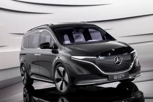 纯电动家用MPV 奔驰EQT概念车正式发布