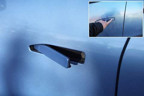 新能源汽车隐藏式门把手对风阻系数影响大吗
