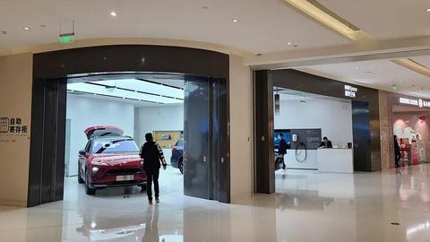 商场卖车:车企的新战场