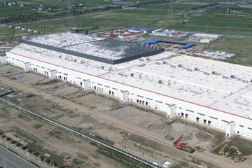 特斯拉上海超級工廠基本完成