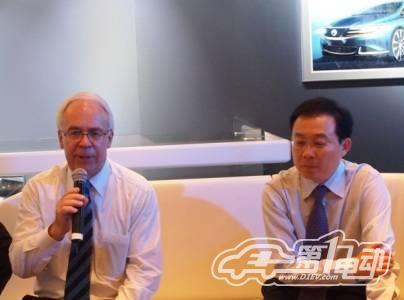 比戴<a class='link' href='http://car.d1ev.com/series-62/' target='_blank'>腾势</a>亮相北京车展 明年年底将量产