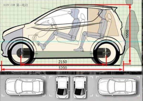 解析奇瑞小蚂蚁车身,中国首台全铝车身电动汽车为何只